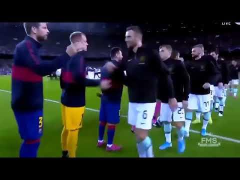 Barcelona vs intermilan 2-1 in the uefa champions league