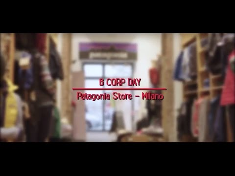 B Corp Day - Patagonia Store Milano