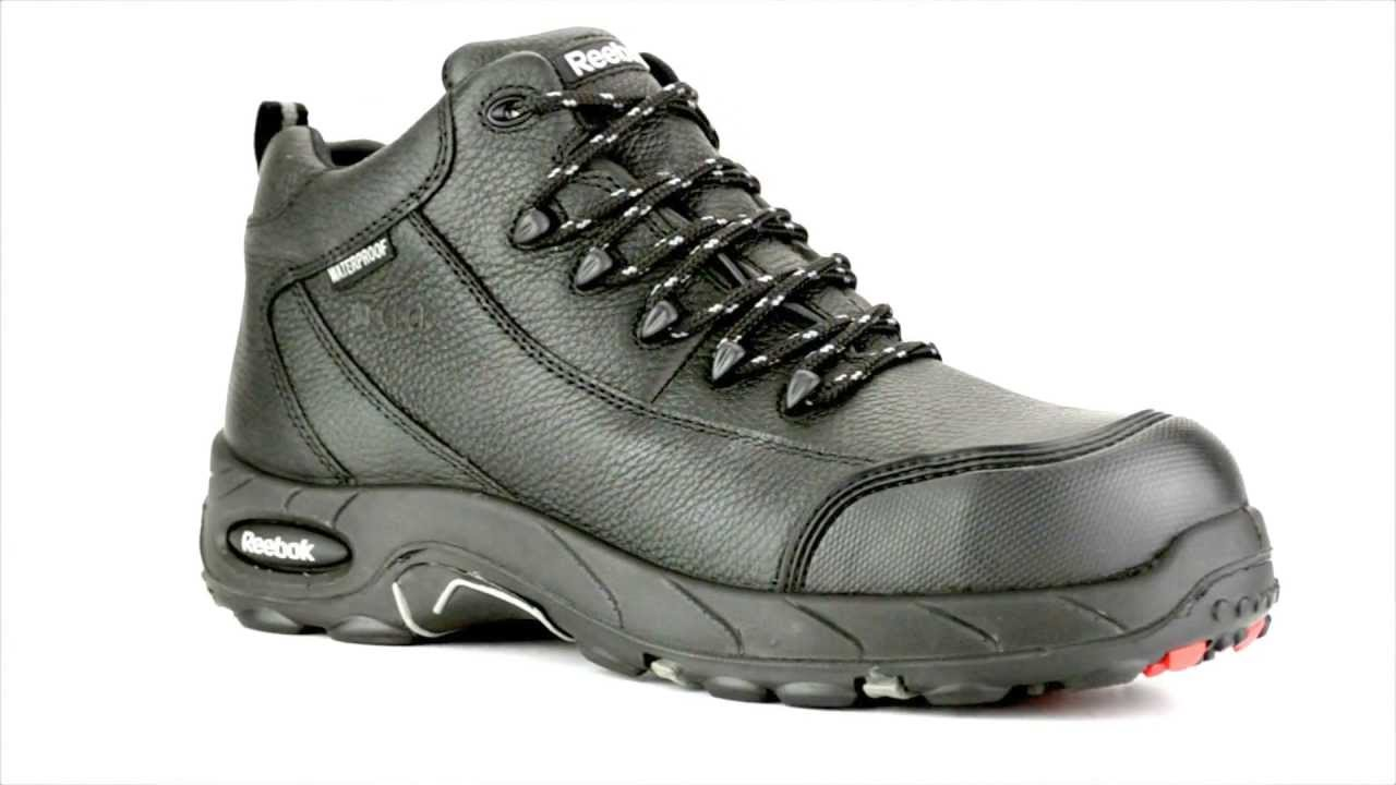 Men s Reebok RB4555 Composite Toe Waterproof Metal Free Work Boot   Steel- Toe-Shoes.com 62e9c711b