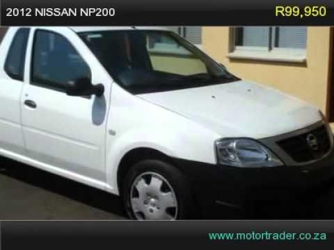 2012 NISSAN NP200 1.6