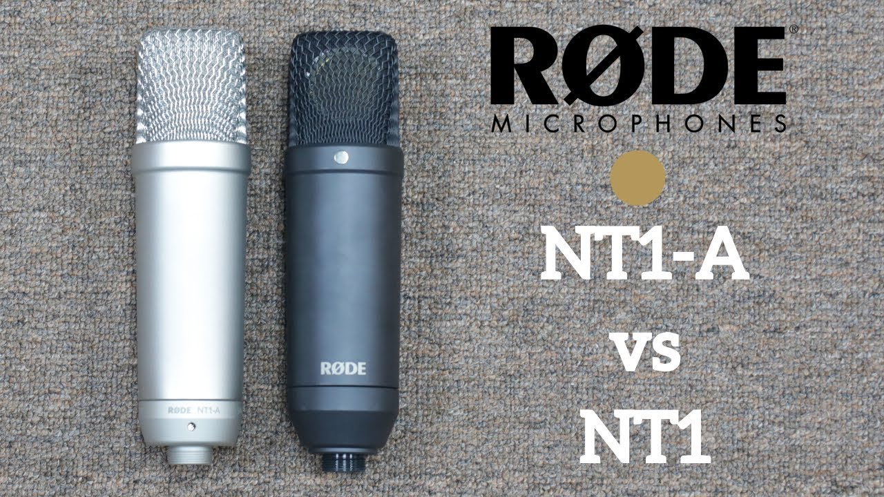 rode nt1 a vs nt1 condenser microphone is there a difference youtube. Black Bedroom Furniture Sets. Home Design Ideas