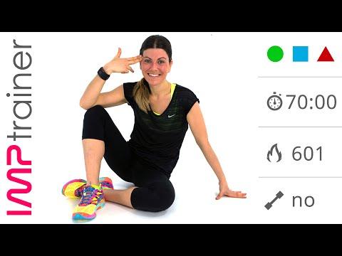 70 minuti: Allenamento Completo Total Body  per Tonificare e Dimagrire