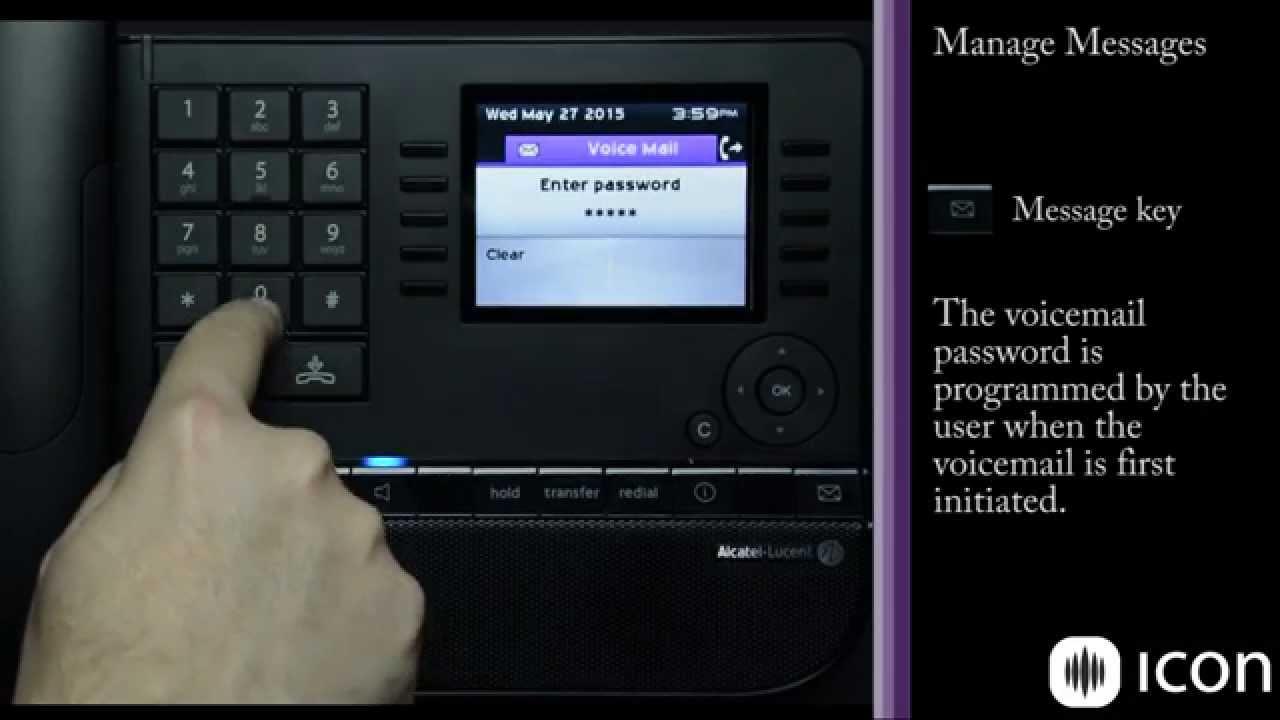 Alcatel Lucent 8068 Premium Deskphone on OXE Demo and