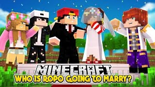 WHO IS ROPO GOING TO MARRY? w/Little Leo  | Minecraft Love Story | Custom Roleplay |