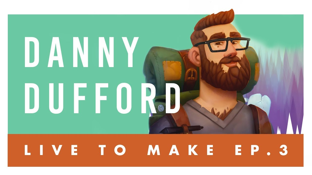 Live To Make Ep 3 Danny Dufford Illustrator Concept Artist