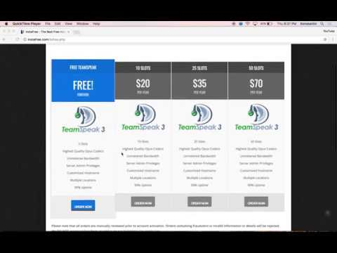 How To Get Free TeamSpeak Server Hosting Most Popular Videos - Minecraft server erstellen 1 8 kostenlos ohne hamachi