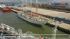 Bilder aus dem Hafen von Cuxhaven