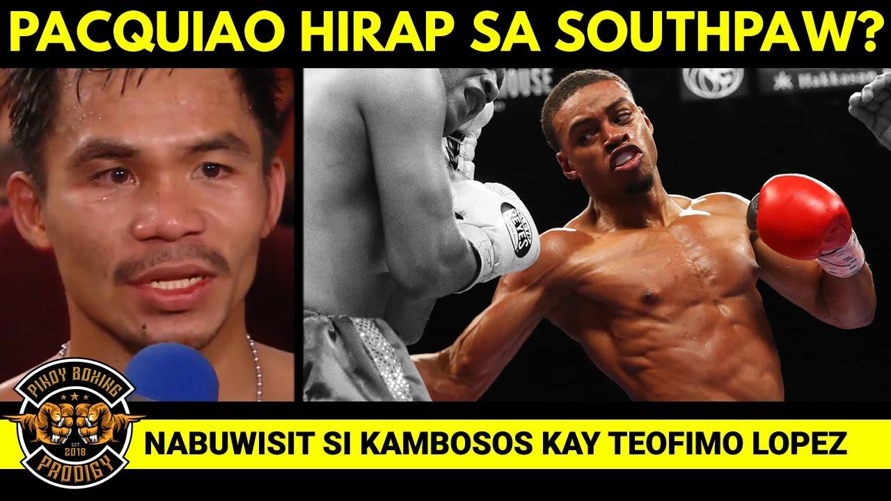 Pacquiao aminado dati hirap sa Southpaw? Pero SPEED is the Key   Kambosos dismayado kay Teofimo
