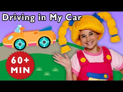Driving in My Car and More  Road Trip Adventure  Ba Songs from Mother Goose Club!