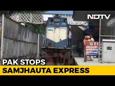 Samjhauta Express Stops At Wagah As Pak Crew Refuses To Go Further