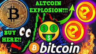 BITCOIN $15,000,000 SELL WALL!!! ALTCOINS READY to EXPLODE! 2 PICKS for HUGE GAINS!