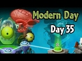 Plants vs Zombies 2 - Modern Day - Day 35: Extra Level | Hot Date in Modern Day