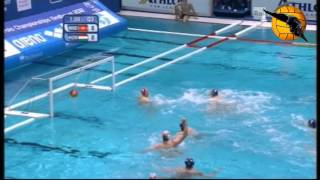 Montenegro 14 Hungary 13 ET Semifinal European Champs Eindhoven 2012 27.1.12 water polo