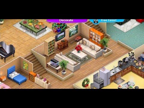 Virtual Families 2 Best House Design! Good Design Ideas