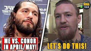 Jorge Masvidal RESPONDS to Conor McGregor saying he'd fight him, Colby-UFC was planning on firing me