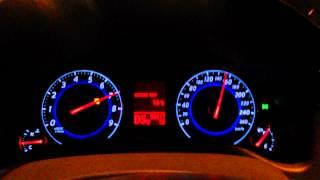 Infiniti G35x разгон от 0 до 100 км/ч / Infiniti G35x 0-100 kmh acceleration