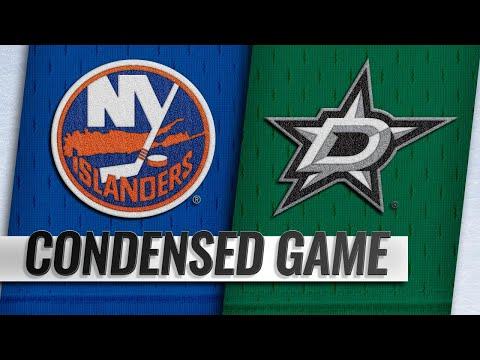 Обзор матча «Даллас Старз» — «Нью-Йорк Айлендерс»
