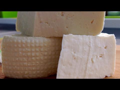 Молодой сыр из молока в мультиварке. Имеретинский сыр.