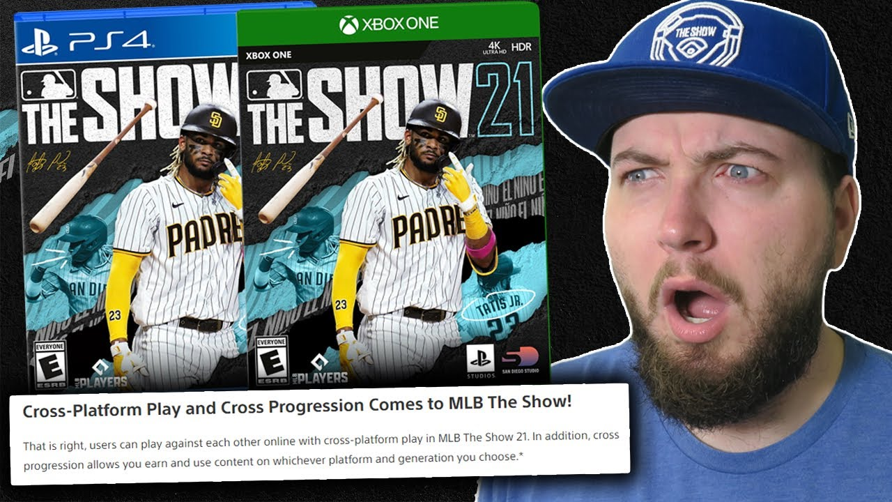 MLB The Show 21 is officially coming to Xbox! (Cross Platform, Cross Progression, Franchise Updates)