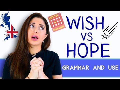 Wish vs Hope | Grammar and Use