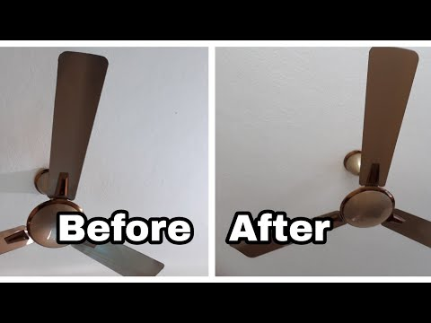 Very easy way to clean ceiling fan without Ladder,Stool,Chair