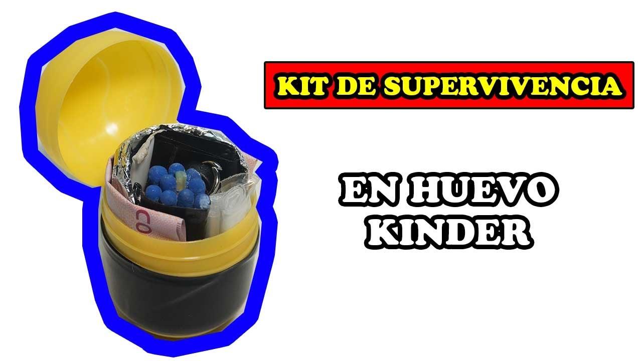 Micro Kit de Supervivencia EPICO Casero - YMX supervivencia