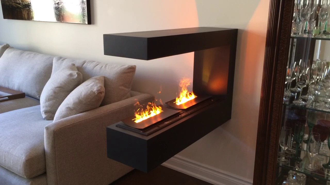 Wall Mount Electric Fireplace Opti Myst Burners Dfi400 By Dimplex