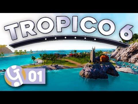 🌴 Ultimate Sandbox Island! | Let's Play Tropico 6 Sandbox Ep. 01