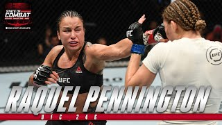 UFC 246: Raquel Pennington focused on sending Holly Holm to retirement in rematch | State of Combat