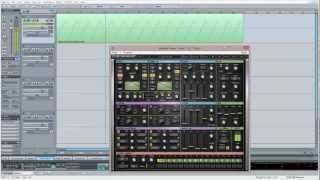 Samplitude Pro X : Waves Element Synth