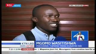 Mgomo wasitishwa , magari mengi ya umma yaondolewa barabarani
