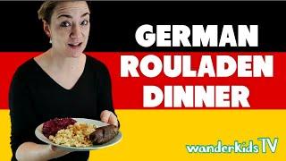 GERMAN ROULADEN - Best Comfort Food!