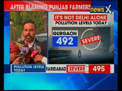 Delhi Air Pollution: After blaming Punjab crop-fire, AAP government does u-turn