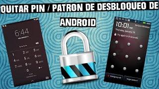 Cómo quitar el patrón/pin de desbloqueo de casi cualquier Android
