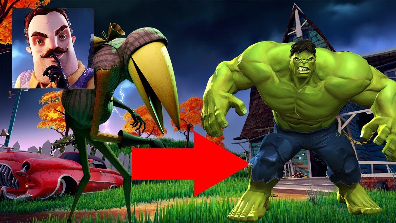 Hello Neighbor 2 - New Neighbor Hulk New Update Full Gameplay Walkthrough
