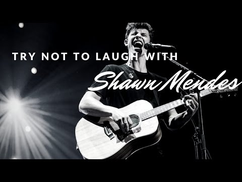 Try not to laugh with Shawn Mendes