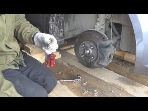 Kia Rio 3! Замена ступичного подшипника своими руками.