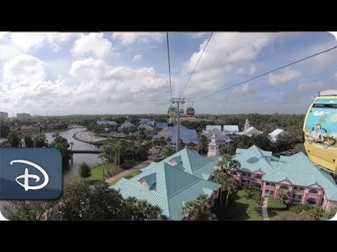 The Theme Park Podcast - Video: Journey Across The Sky In The New Disney Skyliner