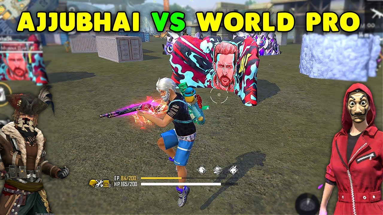Download Finally Ajjubhai And Munnabhai Vs World Best Player Clash Squad Gameplay - Garena Free Fire