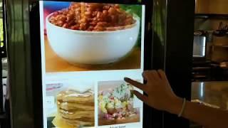Samsung Family Hub - Recipe Demo