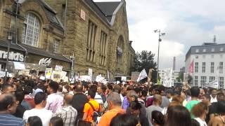 Протест курдов