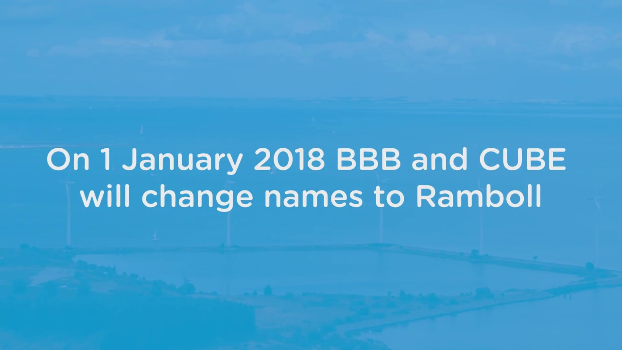 Ramboll, BBB and CUBE: Strong in wind – now under one name