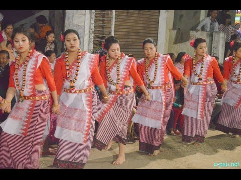 Thabal Chongba (Manipuri folk dance) - YouTube