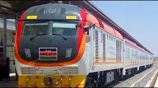 Madaraka Express to make 3 minute stopover in Mtito and Voi
