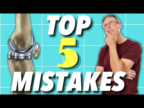 Knee Replacement Rehab: Top 5 Mistakes People Make