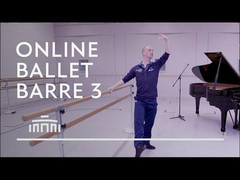 Ballet Barre 3 (Online Ballet Class) - Dutch National Ballet