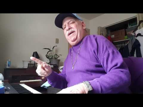 Barry Stumpf just a Boxing coach having fun playing along with my Hammond Organ and Leslie