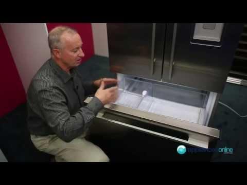 Expert Review Of The 519L Fisher & Paykel 3 Door RF522ADUX1 Fridge Freezer - Appliances Online