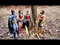 Marvel vs DC Battle - Spiderman vs Superman, Batman v Captain America, Aquaman vs Avengers Thor!