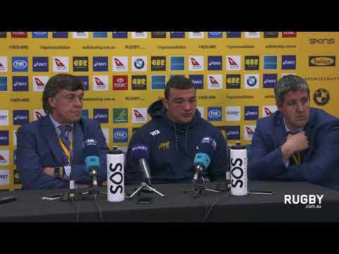 Argentina post match press conference